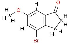 4-Bromo-6-methoxy-2,3-dihydro-1h-inden-1-one