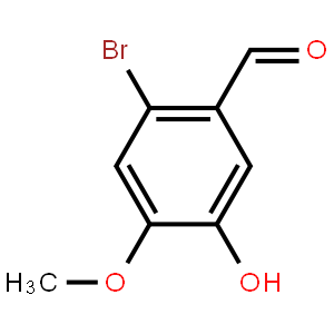 2-溴-4-甲氧基-5-羟基苯甲醛
