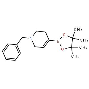 1-苄基-1,2,3,6-四氢吡啶-4-硼酸频哪醇酯