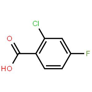 2-氯-4-氟苯甲酸