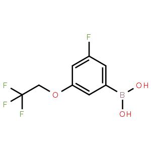 (3-Fluoro-5-(2,2,2-trifluoroethoxy)phenyl)boronic acid