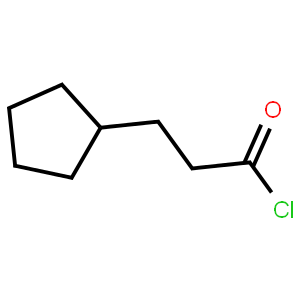 3-環戊基丙酰氯