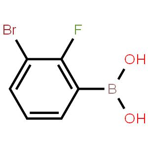 3-溴-2-氟苯硼酸