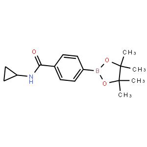 N-(环丙基)-4-(4,4,5,5-四甲基-1,3,2-恶硼-2基)苯甲酰胺
