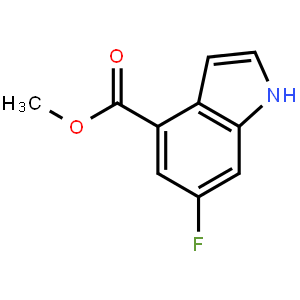 6-Fluoro-1H-indole-4-carboxylic acid methyl ester