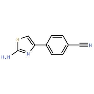 2-Amino-4-(4-cyanophenyl)thiazole