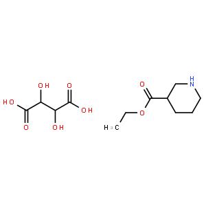 (S)-3-哌啶甲酸乙酯-D-酒石酸盐