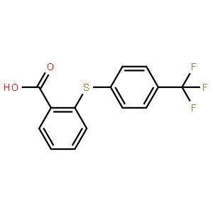 2-(4-(三氟甲基)苯基硫代)苯甲酸