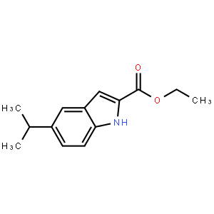 Ethyl 5-isopropyl-1h-indole-2-carboxylate
