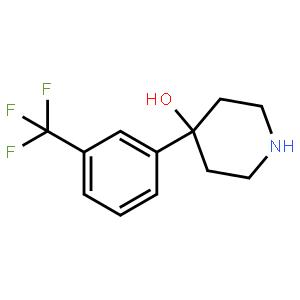 4-[3-(Trifluoromethyl)phenyl]-4-piperidinol