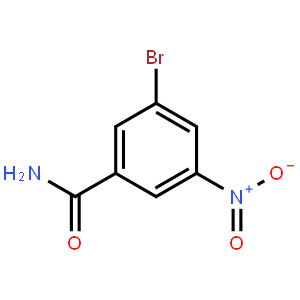 3-Bromo-5-nitrobenzamide