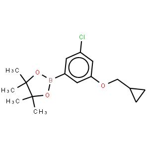 3-Chloro-5-cyclopropylmethoxyphenylboronic acid, pinacol ester