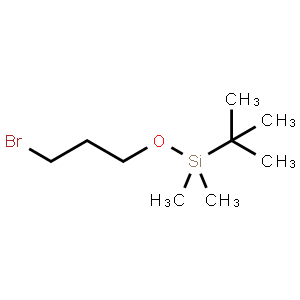 (3-Bromopropoxy)(tert-butyl)dimethylsilane