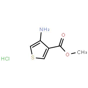 3-氨基噻吩-4-羧酸甲酯 鹽酸鹽