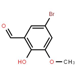5-溴-2-羟基-3-甲氧基苯甲醛