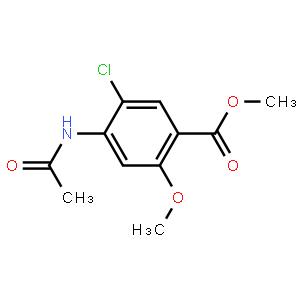 5-氯-4-乙酰氨基-2-甲氧基苯甲酸甲酯