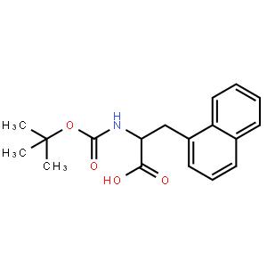 N-(叔丁氧羰基)-3-(1-萘基)-D-丙氨酸
