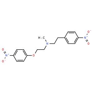 N-甲基-4-硝基-N-[2-(4-硝基苯氧基)乙基]苯乙胺