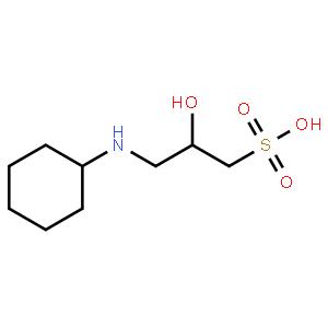 3-(環己胺)-2-羥基-1-丙磺酸
