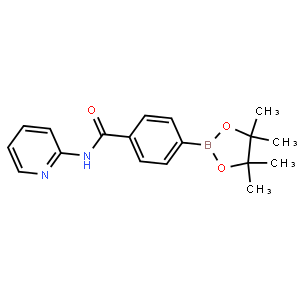 N-Pyridin-2-yl-4-(4,4,5,5-tetramethyl-[1,3,2]dioxaborolan-2-yl)-benzamide