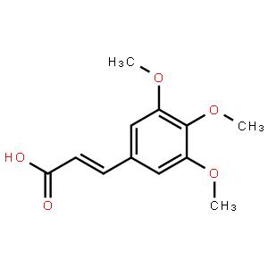 反式-3,4,5-三甲氧基肉桂酸