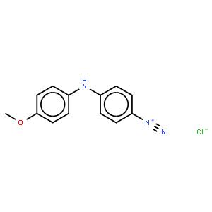 变胺蓝B重氮盐