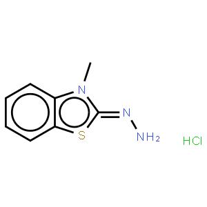 3-甲基-2-苯并噻唑酮腙盐酸盐,水合物