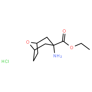 Ethyl 3-amino-8-oxabicyclo[3.2.1]octane-3-carboxylate hydrochloride