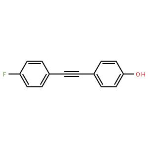4-(4-氟苯基乙炔基)苯酚