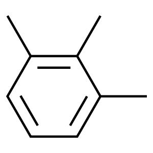二硫化碳中1,2,3-三甲苯