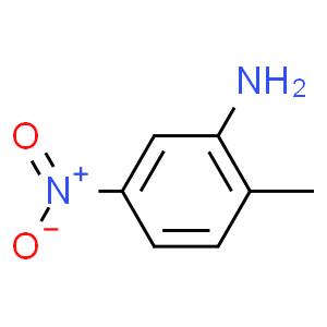 乙腈中2-甲基-5-硝基苯胺