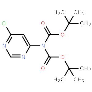 Imidodicarbonicacid, 2-(6-chloro-4-pyrimidinyl)-, 1,3-bis(1,1-dimethylethyl) ester