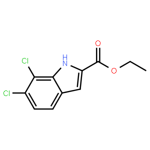 ethyl 6,7-dichloro-1H-indole-2-carboxylate
