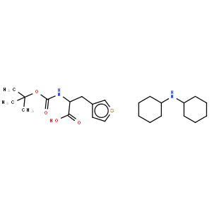 Dicyclohexylamine (R)-2-((tert-butoxycarbonyl)amino)-3-(thiophen-3-yl)propanoate