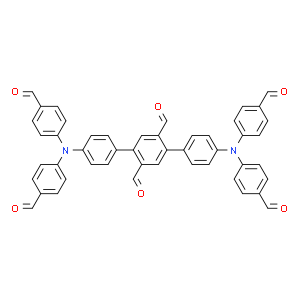 [1,1':4',1''-Terphenyl]-2',5'-dicarboxaldehyde, 4,4''-bis[bis(4-formylphenyl)amino]-