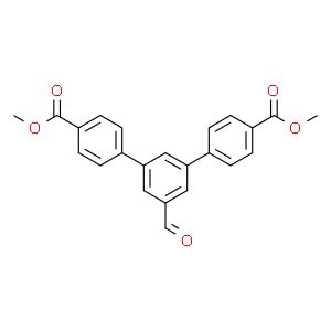 [1,1':3',1''-Terphenyl]-4,4''-dicarboxylic acid, 5'-formyl-, 4,4''-dimethyl ester