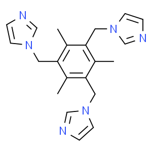 1,3,5-tris(N-imidazolylmethyl)-2,4,6-trimethylbenzene