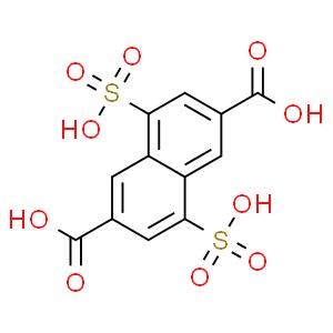 4,8-disulfo-2,6-naphthalenedicarboxylic acid