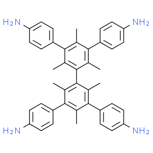 5',5''-bis(4-aminophenyl)-2',2'',4',4'',6',6''-hexamethyl-[1,1':3',1'':3'',1'''-quaterphenyl]-4,4'''-diamine