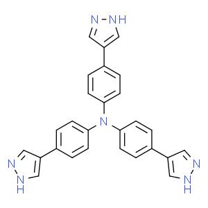 Benzenamine,4-(1H-pyrazol-4-yl)-N,N-bis[4-(1H-pyrazol-4-yl)phenyl]-