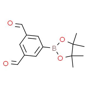 1,?3-?Benzenedicarboxaldeh?yde, 5-?(4,?4,?5,?5-?tetramethyl-?1,?3,?2-?dioxaborolan-?2-?yl)?-