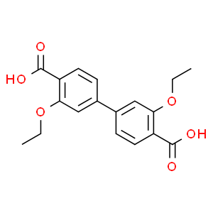 [1,​1'-​Biphenyl]​-​4,​4'-​dicarboxylic acid, 3,​3'-​diethoxy-