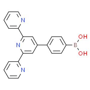 4'-(4-硼酸基苯基)-2,2':6',2''-三联吡啶