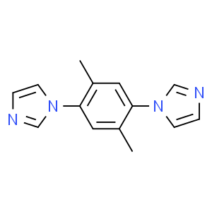1H-​Imidazole, 1,​1'-​(2,​5-​dimethyl-​1,​4-​phenylene)​bis-