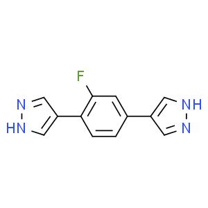4,4'-(2-fluoro-1,4-phenylene)bis(1H-pyrazole)