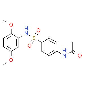 N-(4-N'-乙酰氨基苯磺酰)-2,5-二甲氧基苯胺