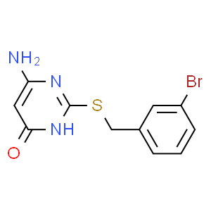 6-氨基-4-羟基-2-(3-溴苄)巯基嘧啶