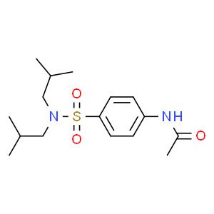 N-(4-N'-乙酰氨基苯磺酰)二异丁胺