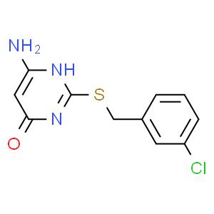6-氨基-4-羟基-2-(3-氯苄)巯基嘧啶
