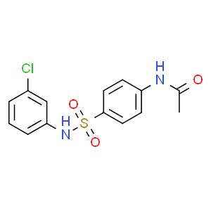 N-(4-N'-乙酰氨基苯磺酰)-3-氯苯胺